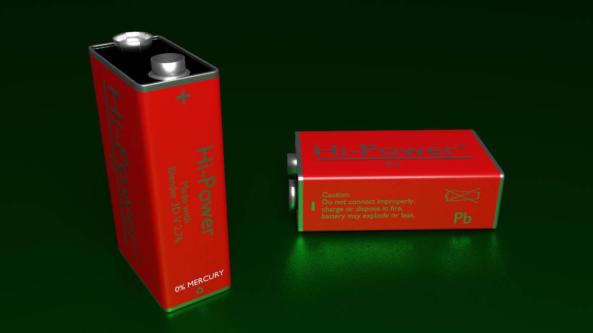 9V PP3 Battery